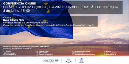 CLA organizam conferência online sobre a recuperação económica na União Europeia