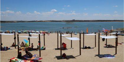 Praia fluvial de Monsaraz abre amanhã a época balnear e recebe a cerimónia de certificação da Estação Náutica de Monsaraz