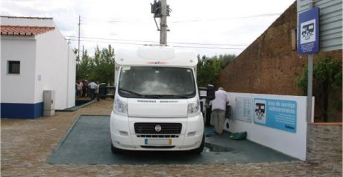 Área de Serviço para Autocaravanas no Telheiro
