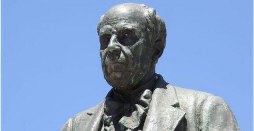 Busto de bronze de Manuel Augusto Mendes Papança