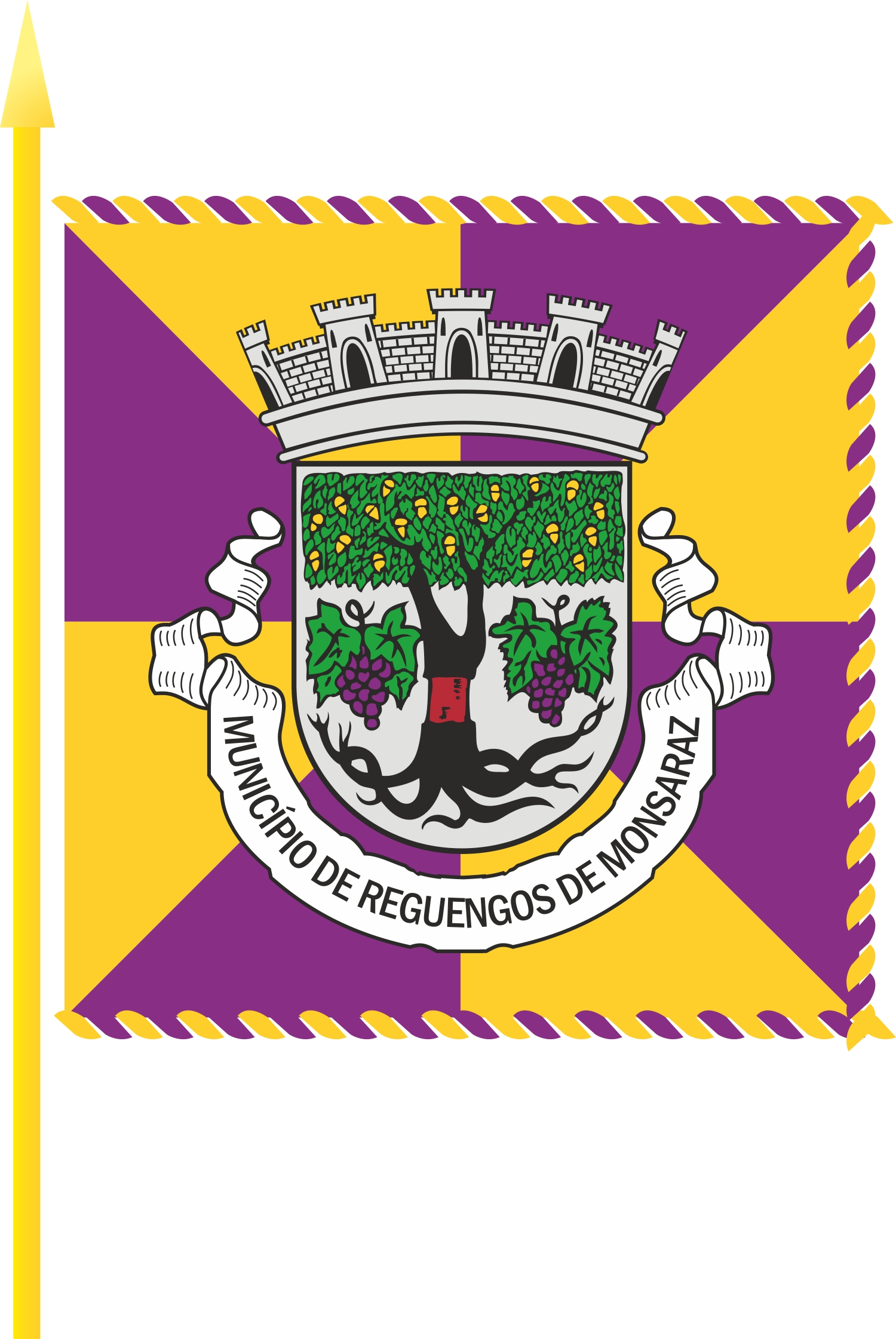 Bandeira do Município de Reguengos de Monsaraz