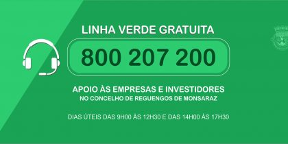 Município de Reguengos de Monsaraz vai ter linha verde gratuita para apoio a empresas e investidores