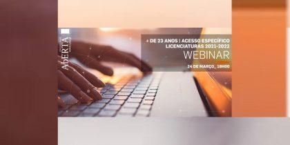 Universidade Aberta: Webinar + 23 anos | acesso específico
