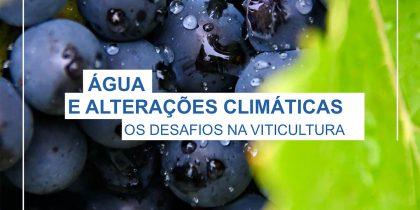 Conferência digital Água e Alterações Climáticas: Os desafios na Viticultura