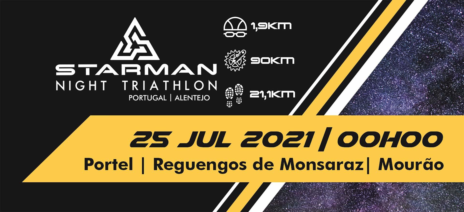 Starman – Night Triathlon a 25/07/2021