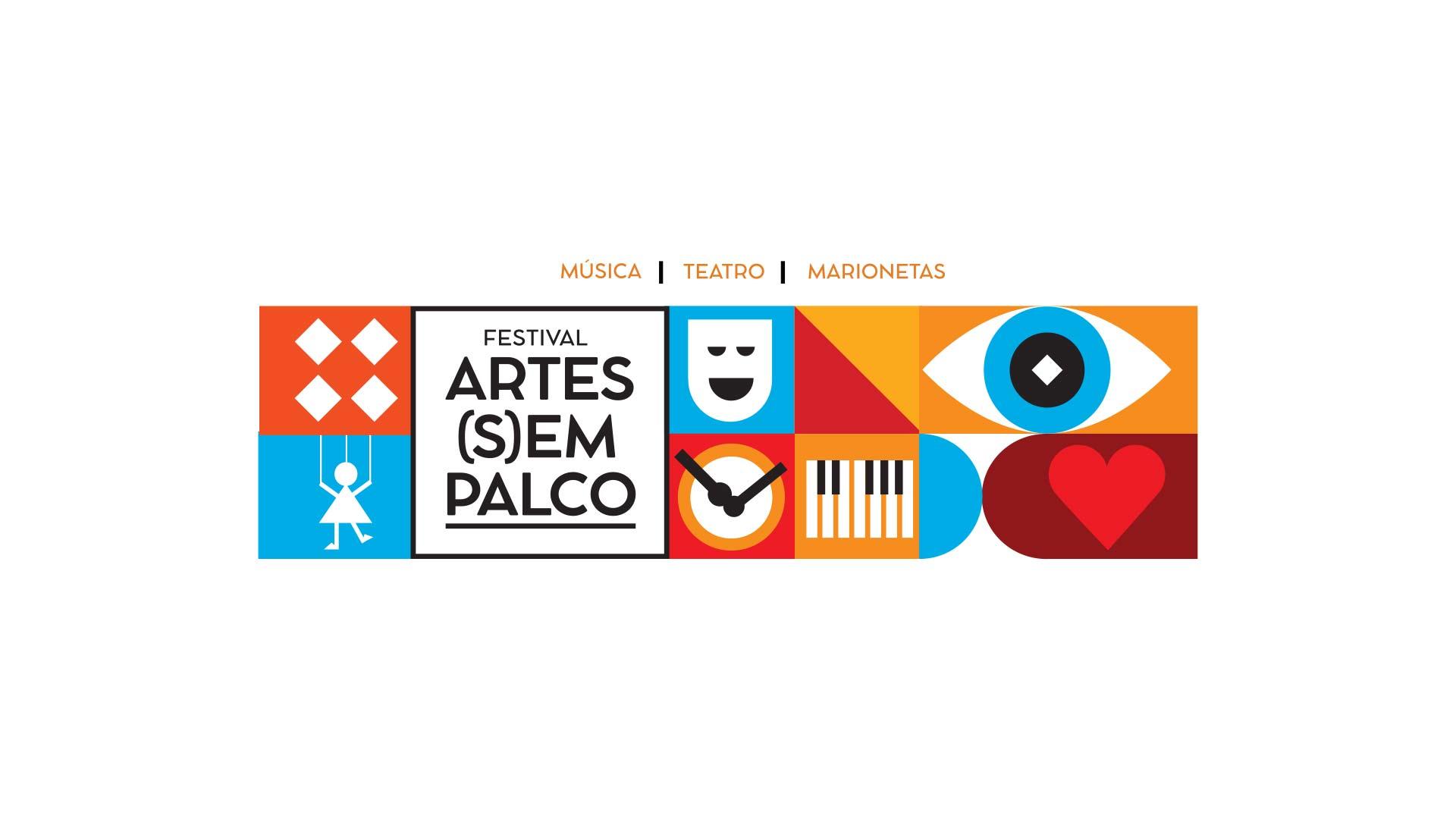 Festival Artes (S)Em Palco, de 9 de maio a 9 de outubro