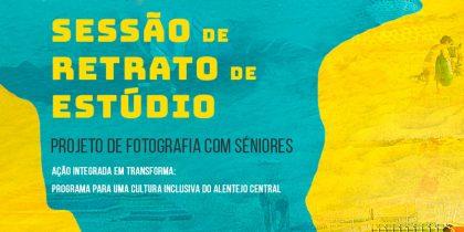 Sessão de retrato de estúdio: projeto de fotografia com séniores